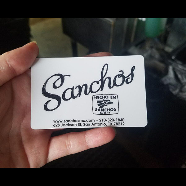 Sanchos Gift Card