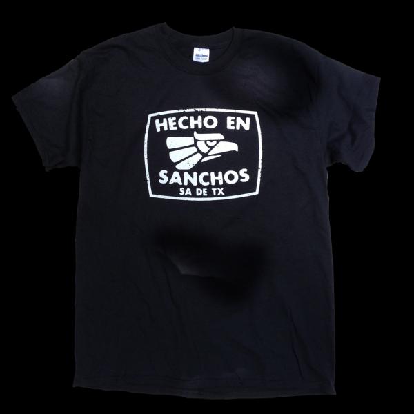 hecho en Sanchos t-shirt