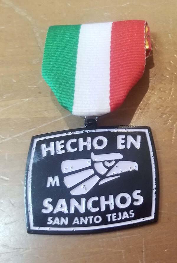 2017 Sanchos Fiesta Medal