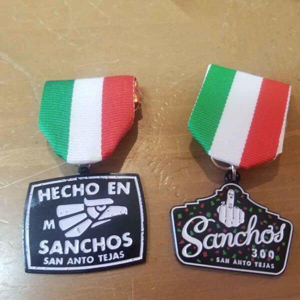 Sanchos Fiesta Medals