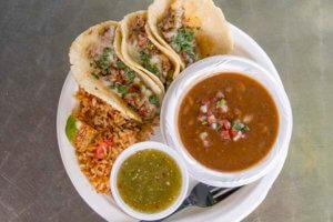 Sanchos Lunch Plate